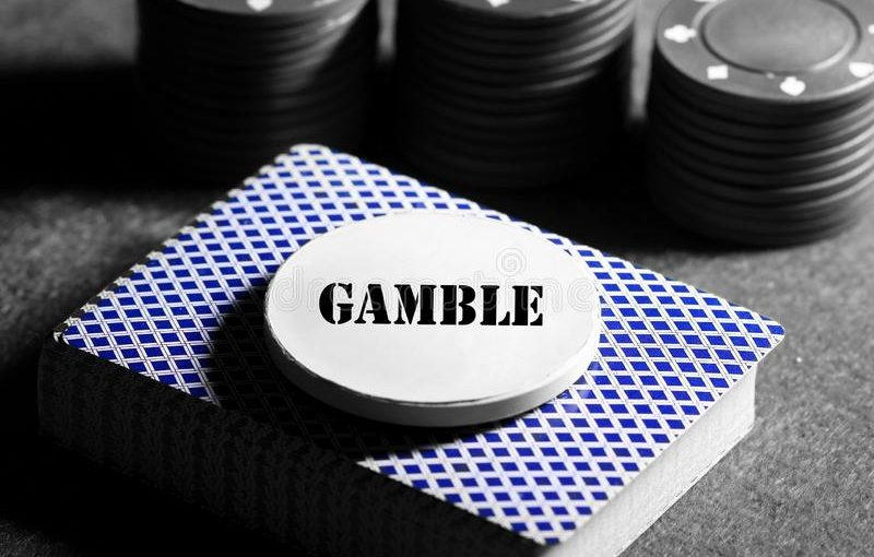 Chips in A Casino Game